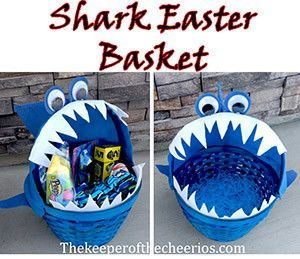 Photo of Shark Easter Basket