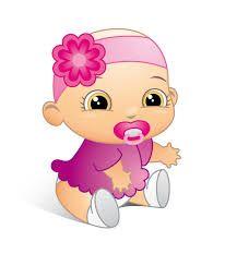 Resultado De Imagen De Bebes Niñas Dibujos Alanna Baby Girl