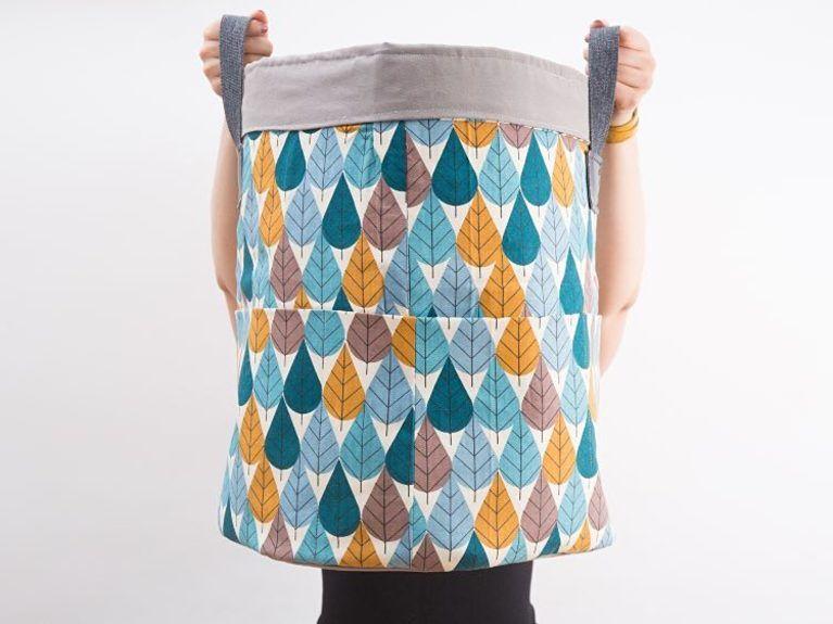 Tutoriel DIY  Coudre un grand panier de rangement pour la chambre d enfant  via DaWanda.com d42e661060d
