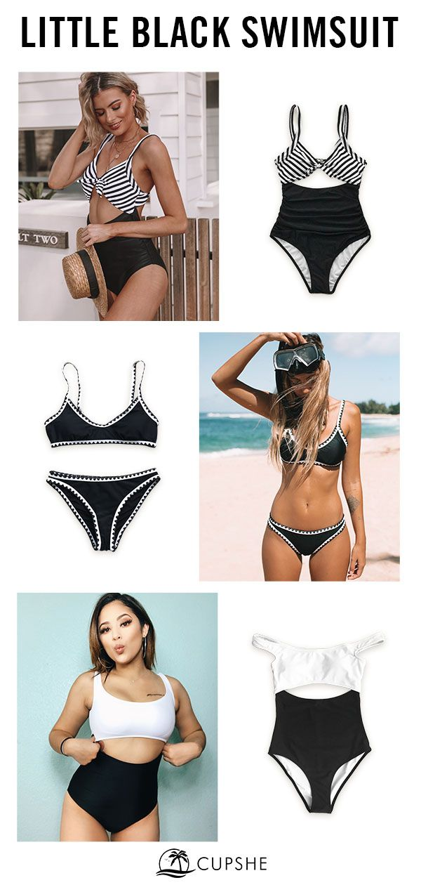 The perfect basic just got upgraded! Our best-selling black swimsuits for all bo… – Swimsuit