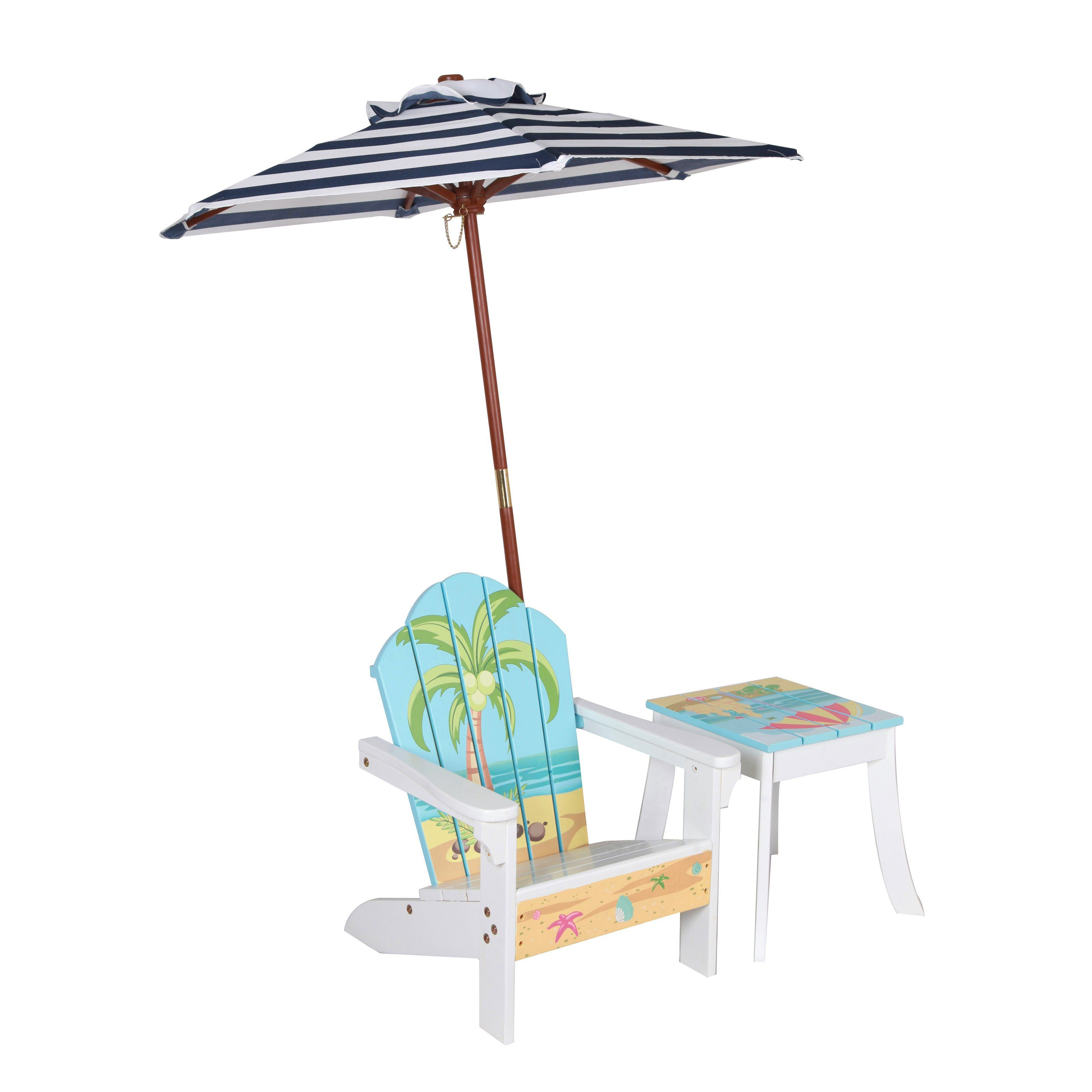 Outstanding Winland Palm Tree Outdoor Wood Kids Adirondack Chair With Ocoug Best Dining Table And Chair Ideas Images Ocougorg