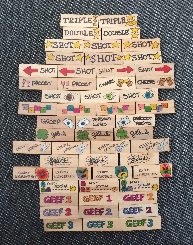Jenga drinking game jenga indrinkspel zelf gemaakt do it jenga drinking game jenga indrinkspel zelf gemaakt solutioingenieria Gallery