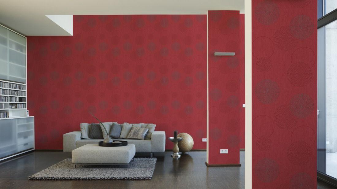 AS Création Tapete 937923; simuliert auf der Wand - tapeten bordüren wohnzimmer