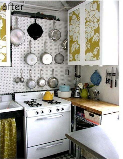 Kitchen Cabinet Door » Wallpaper On Kitchen Cabinet Doors ...