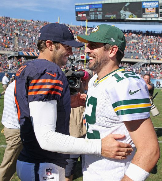 Aaron Rodgers Photos Photos Green Bay Packers V Chicago Bears Green Bay Packers Packers Vs Bears Bears Packers