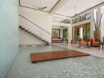 Huge Indoor Atrium With 14 Foot High Waterfall With Images