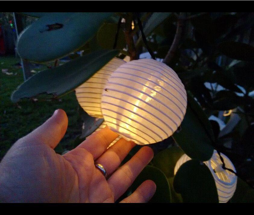 Innoo tech solar lantern string lights warm white httpamazon innoo tech solar lantern string lights warm white httpamazon aloadofball Images