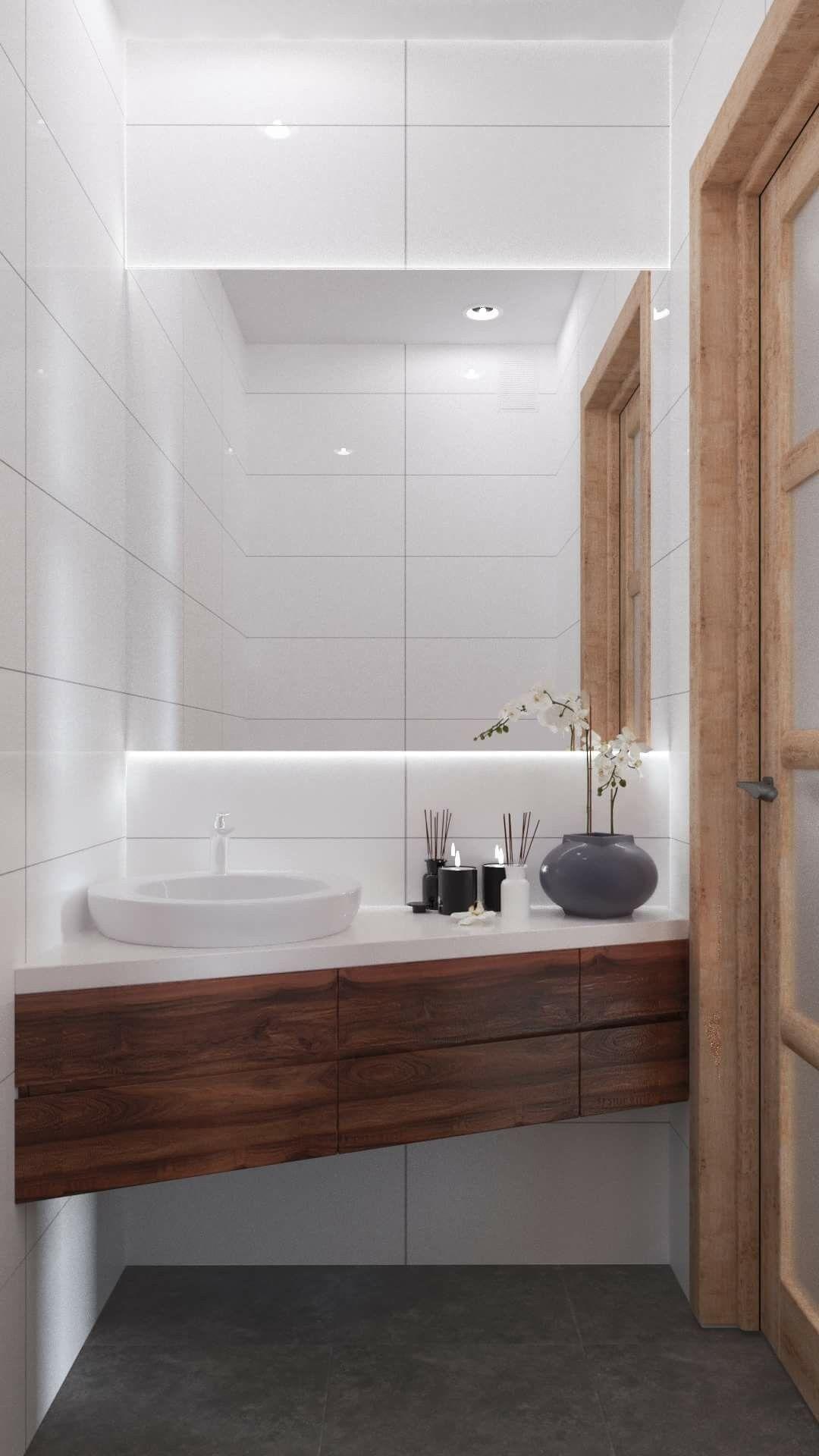 Pin De Lino Em Bathroom Ideias Para Casas De Banho Banheiros Modernos Decoracao Banheiro Pequeno