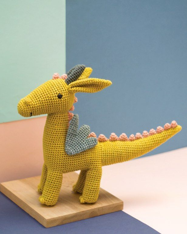 Dragon Gertrude From Pica Paus New Book Crochet Amigurumi