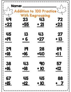 Second Grade Fall Math & ELA Activity Set *Common Core