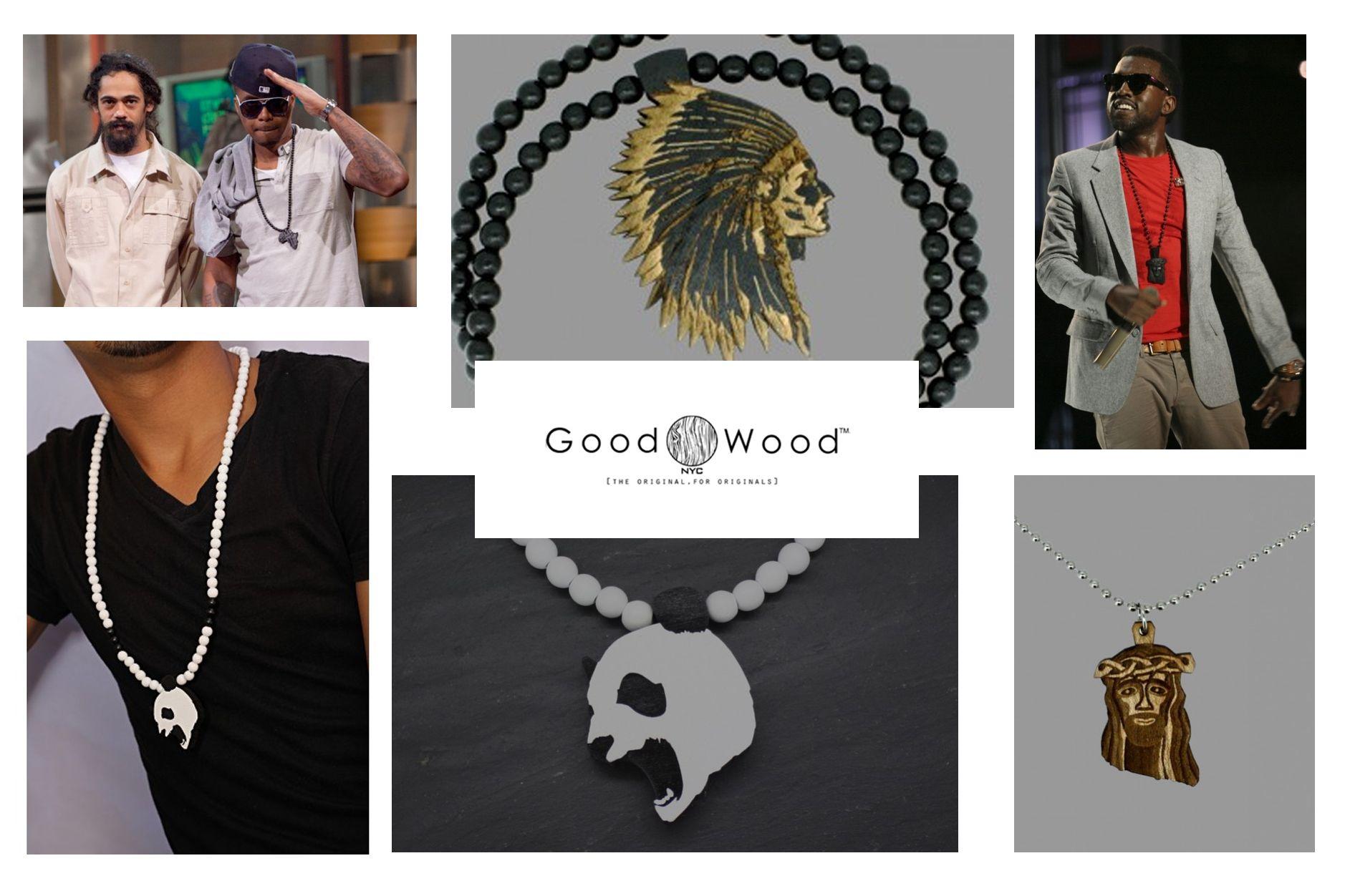 bijoux en bois pour homme de la marque Goodwood NY