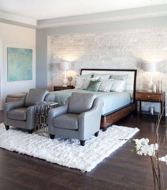 60 Schlafzimmer Ideen Wandgestaltung für jeden Wohnstil mit Bildern   60er schlafzimmer ...