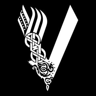Viking Logo 5 Skull Helmet Horns Axes Ship Warrior Barbarian Valhalla Ribbon Svg Eps Png Digital Clipart Vecto Viking Helmet Tattoo Viking Logo Norse Runes