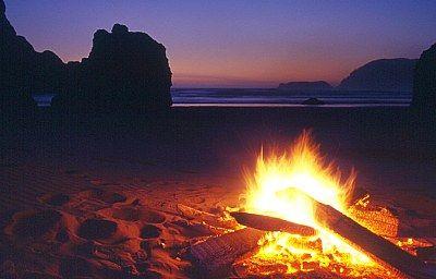 Beach Bonfires Are The Best