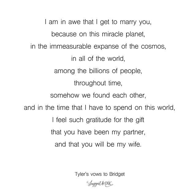 Really Beautiful Wedding Vows You Ll Want To Save For Later