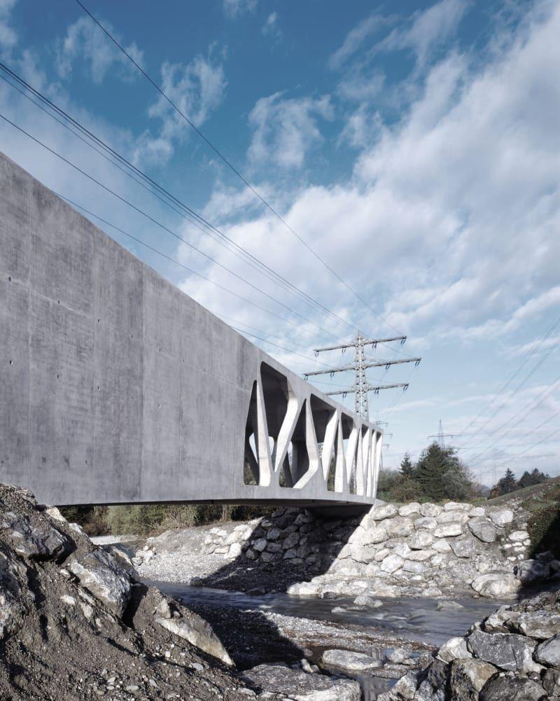 Marte.Marte Architekten, Marc Lins · Alfenz Bridge