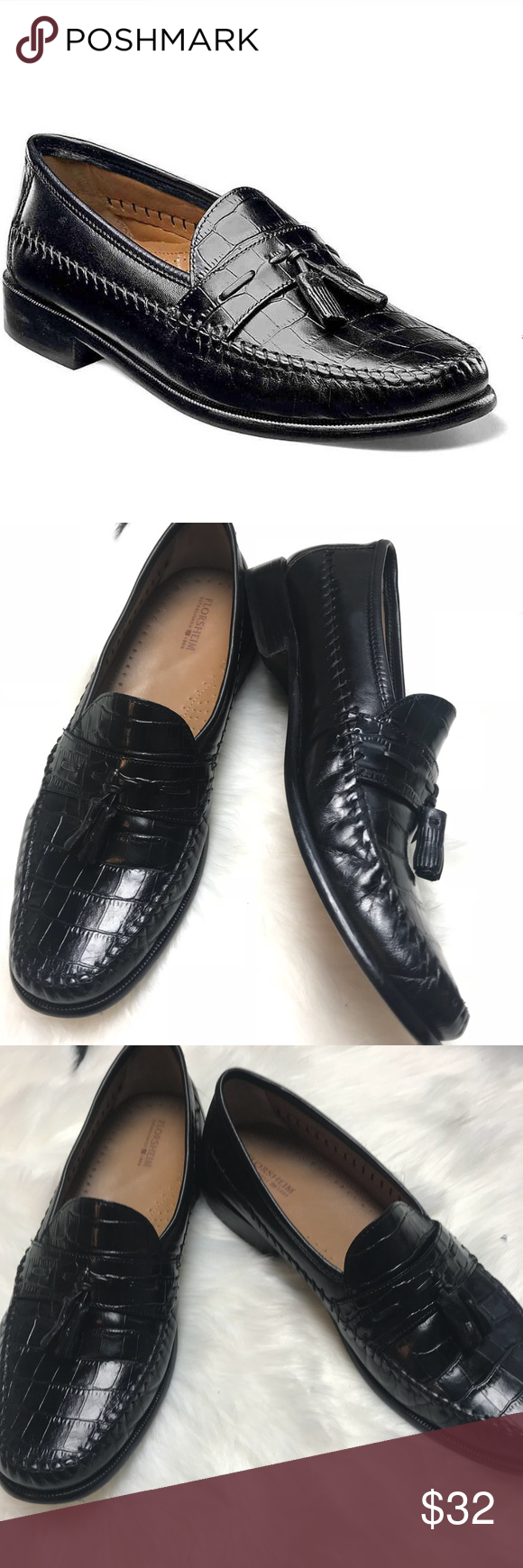 Florsheim Mens Dress Shoes Black Loafer 11 5 Dress Shoes Men Mens Black Dress Shoes Mens Dress Loafers [ 1740 x 580 Pixel ]
