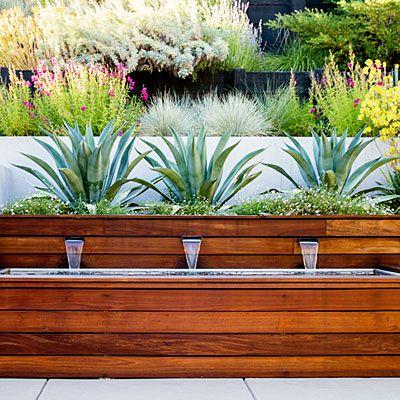 A Hillside Garden 39 S Ingenious Design Sunset Modern Landscaping Backyard Landscaping Designs Garden Landscape Design