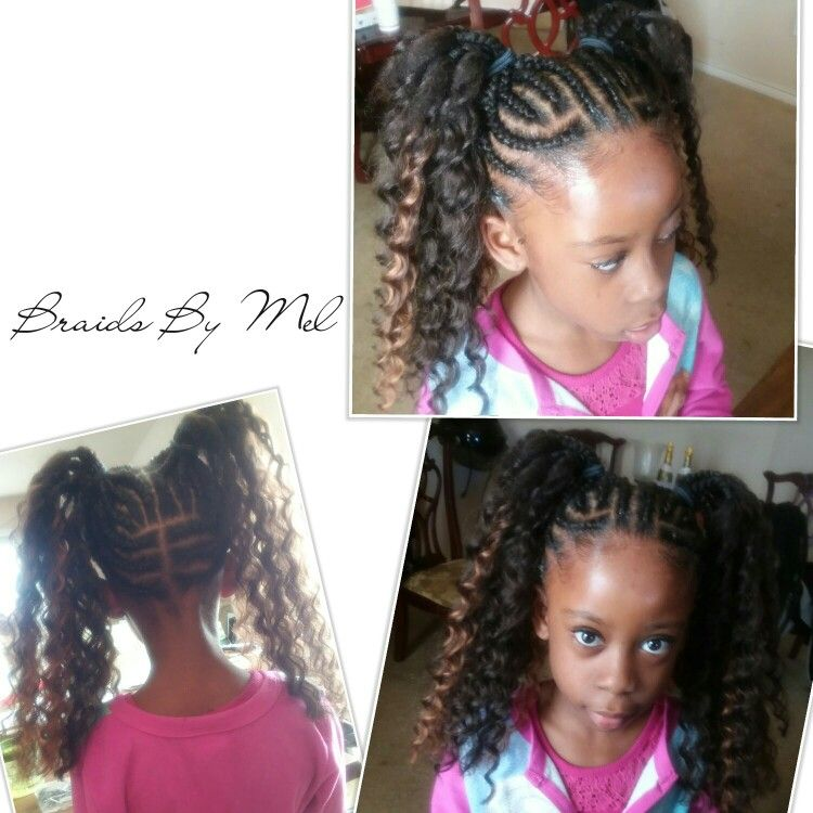Astonishing Little Girl 2 Braided Ponytails Braided Ponytail Braids Hair Schematic Wiring Diagrams Phreekkolirunnerswayorg