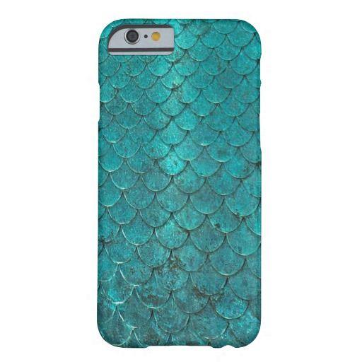 Mermaid Scales Iphone 6 Case Zazzle Com Aquamarine