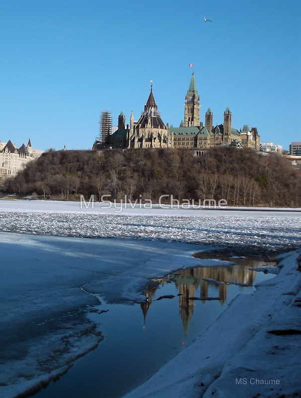 The Canadian Parliament Buildings A Fine Example Of Neo Gothic