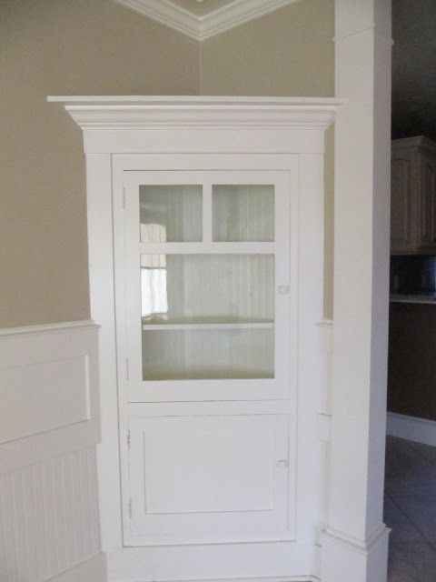 Built In Corner Cabinet Dining Room