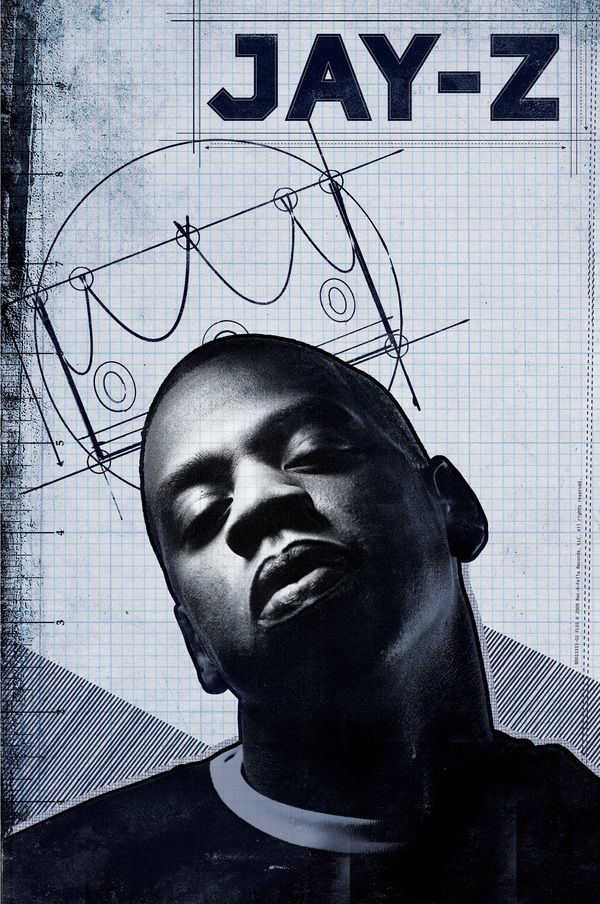 Jay z blueprint poster by alex haldi hip hop and rb imagery jay z blueprint poster by alex haldi malvernweather Gallery