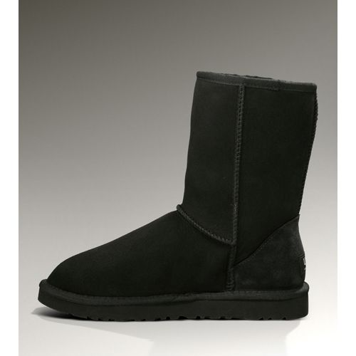 Ugg Black Friday 5825 Classic Short Boots Black Cheap