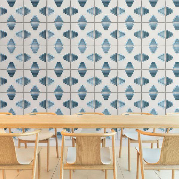 Corset Wall Tiles by Arbutus+Denman