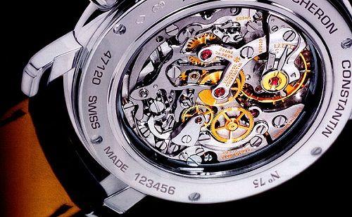 Dòng chữ Swiss Made in chỉ đồng hồ cao cấp thụy sĩ