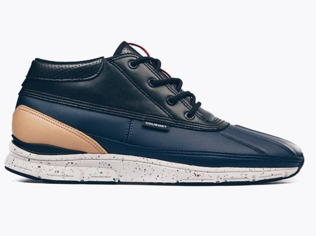 ccdeac392050 Probably one of my favourite sneaker brand by far. Gourmet. These are the  Gourmet Quadici light in the Navy