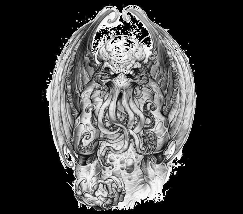 God Of Cosmic Horror Cthulhu Art Cthulhu Tattoo Cosmic Horror