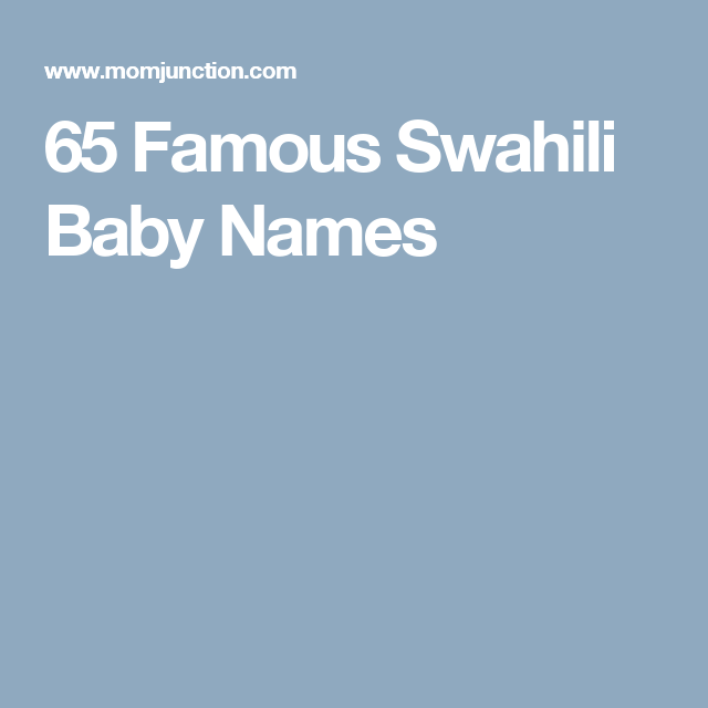 Top Five Asha Name Meaning Swahili - Circus