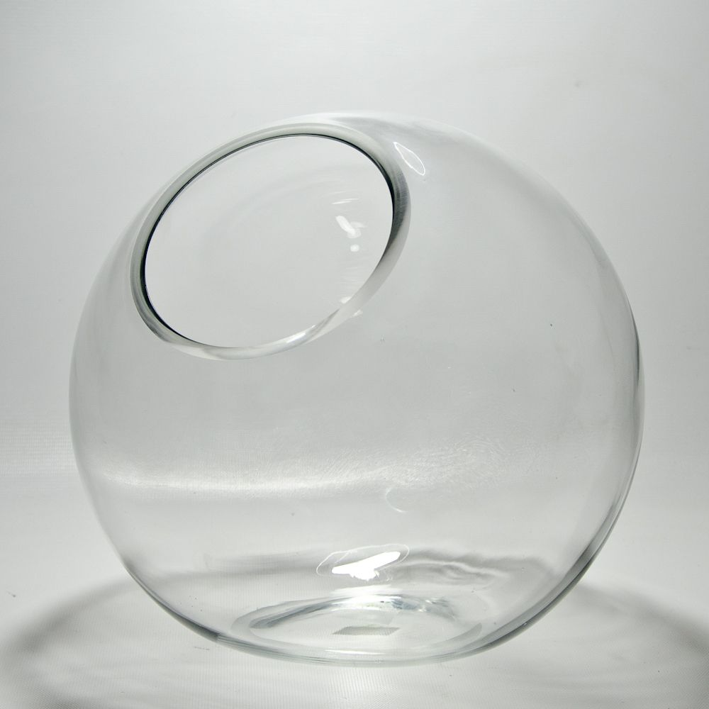 Tilted glass bubble bowl vase is a new twist on an old favorite tilted glass bubble bowl vase is a new twist on an old favorite floridaeventfo Gallery