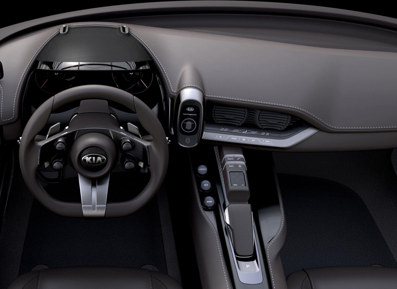 Kia Novo Concept Interior Car Interior Pinterest Cars Concept