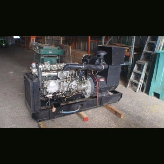 Mitsubishi 6 Cyl Diesel Engine Serial No M05f078733 20 Machine Id 3 X2f 11 5 Frame X2f Core Uci224g1l V Generators For Sale Generation Diesel Engine