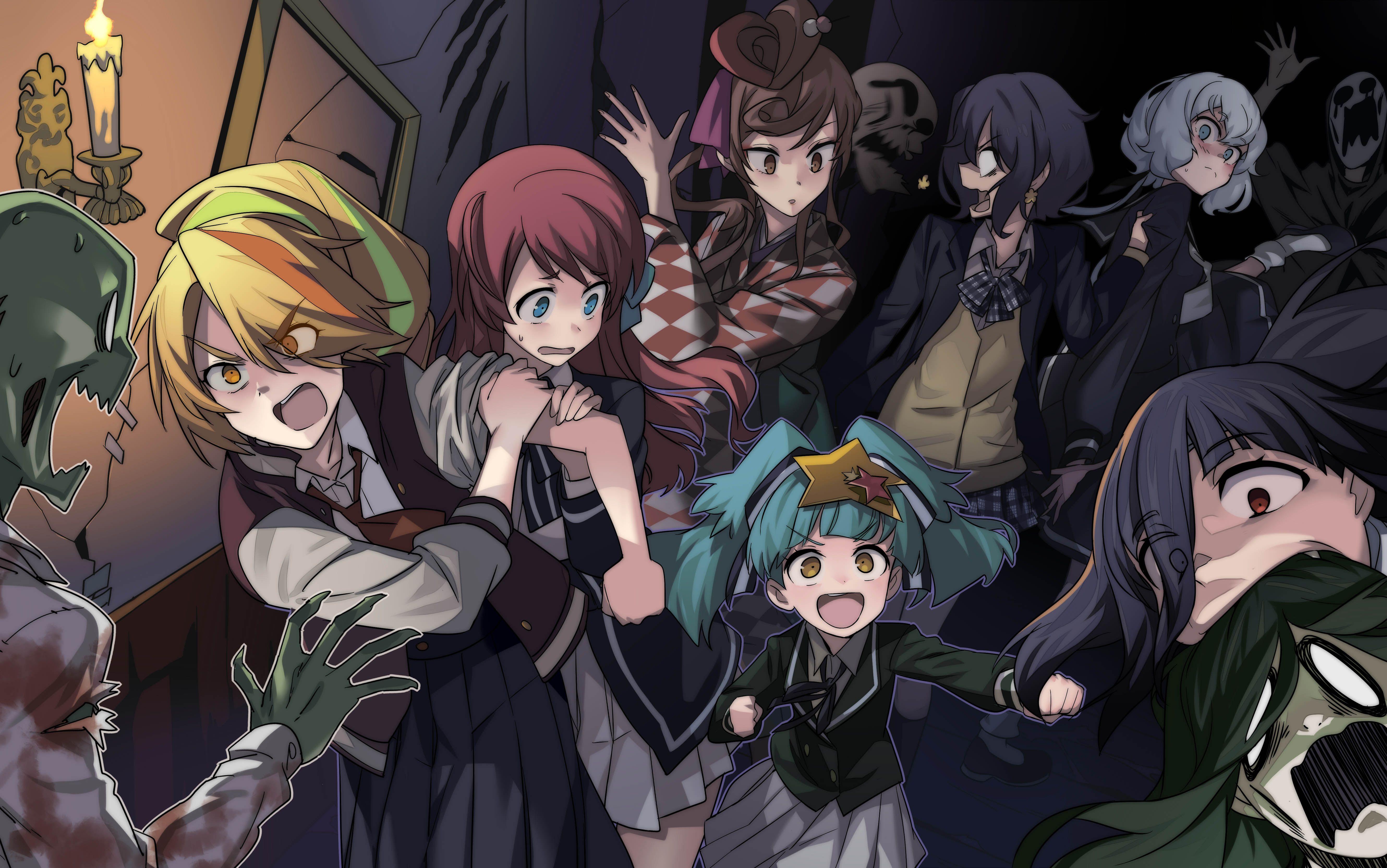 Pin By Ranpo Fangirl On Anime Wallpaper Pc Zombie Land Saga Anime Zombie