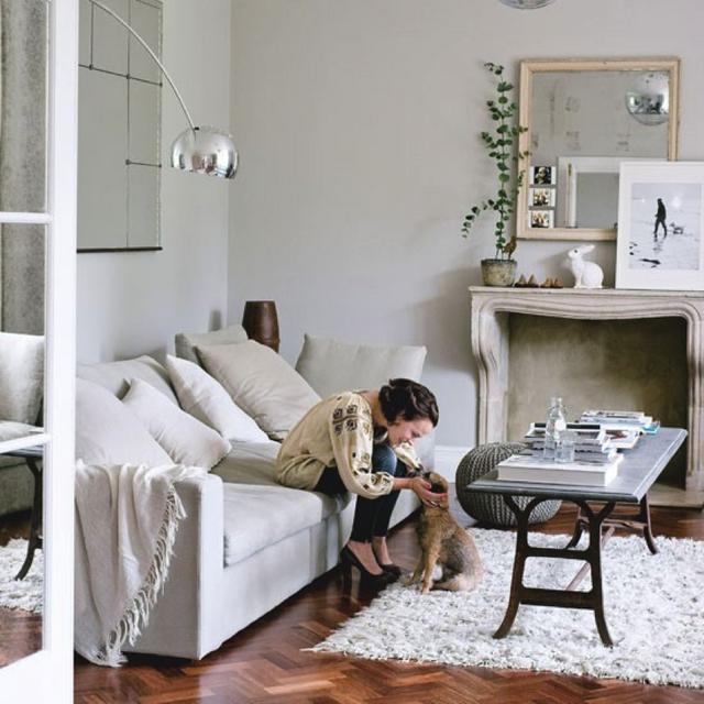 Colour Study: Farrow and Ball Cornforth White   Modern Country Style   Bloglovin'