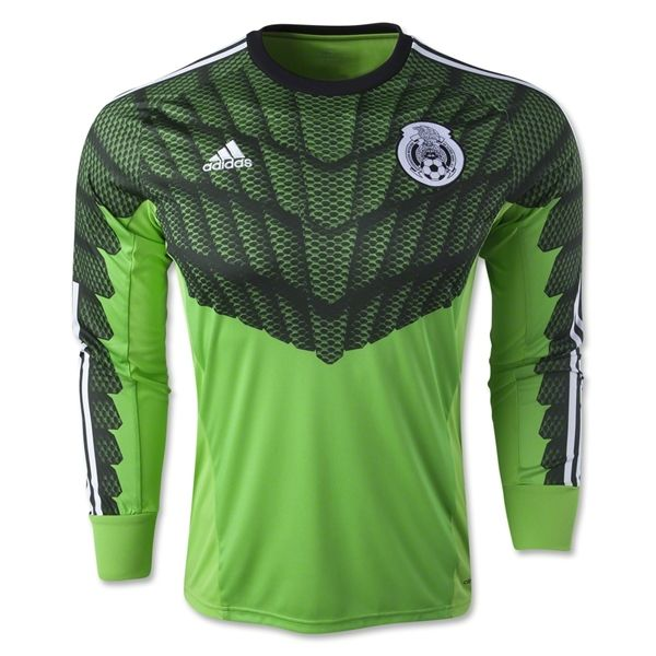 7bbed075f ... Mexico 2015 LS Home Goalkeeper Jersey Jersey Colombia Home Men World  Cup Brazil ...