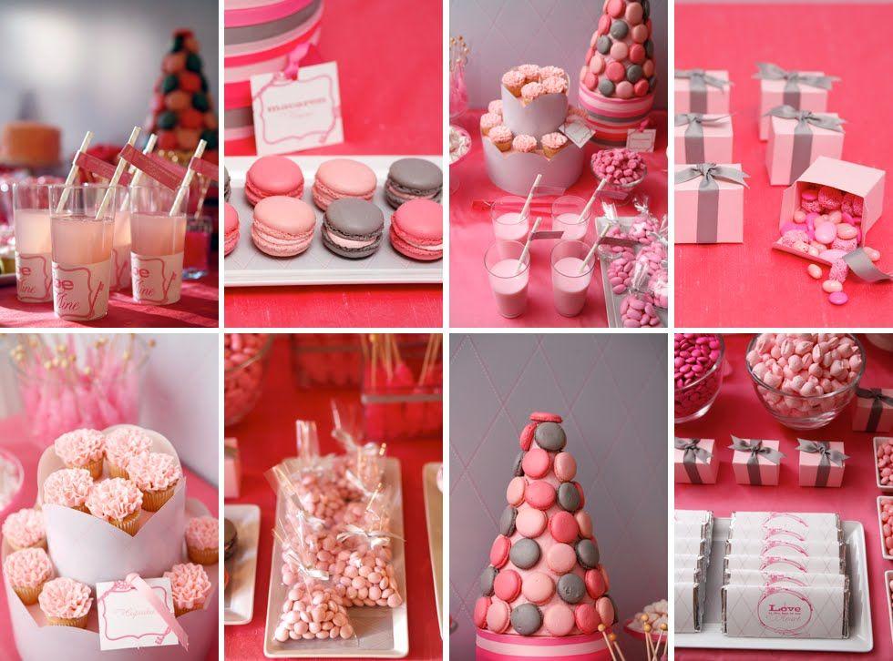 Schön Dessert Table · Valentines Day Food Idea