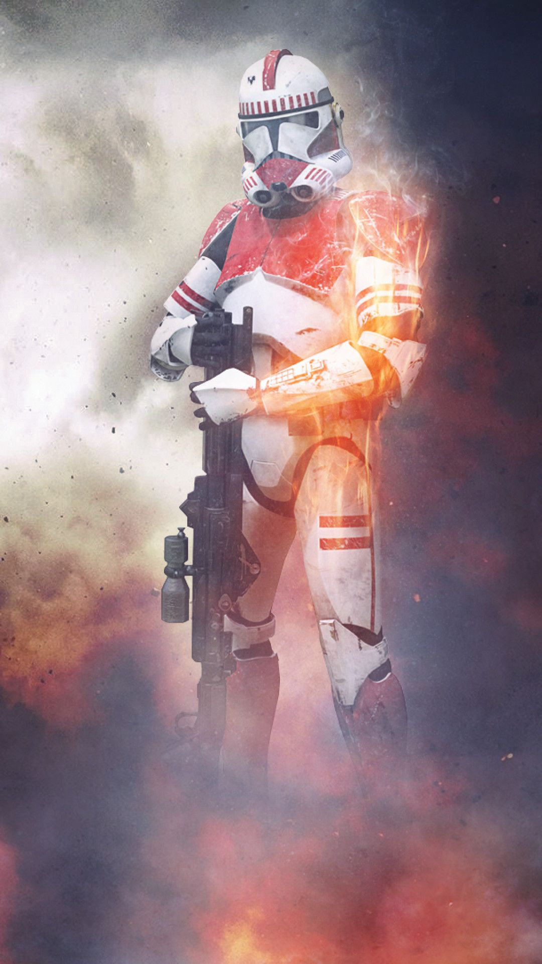 Clone Trooper Iphone Wallpaper 65 Images In 2020 Star Wars Wallpaper Star Wars Battlefront Iphone Wallpaper