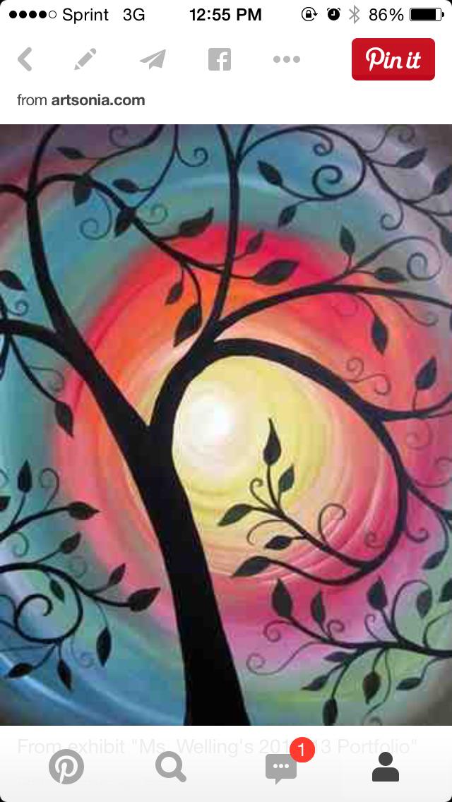 Pin von Jennifer Bell auf Canvas | Pinterest | Leinwand bemalen ...