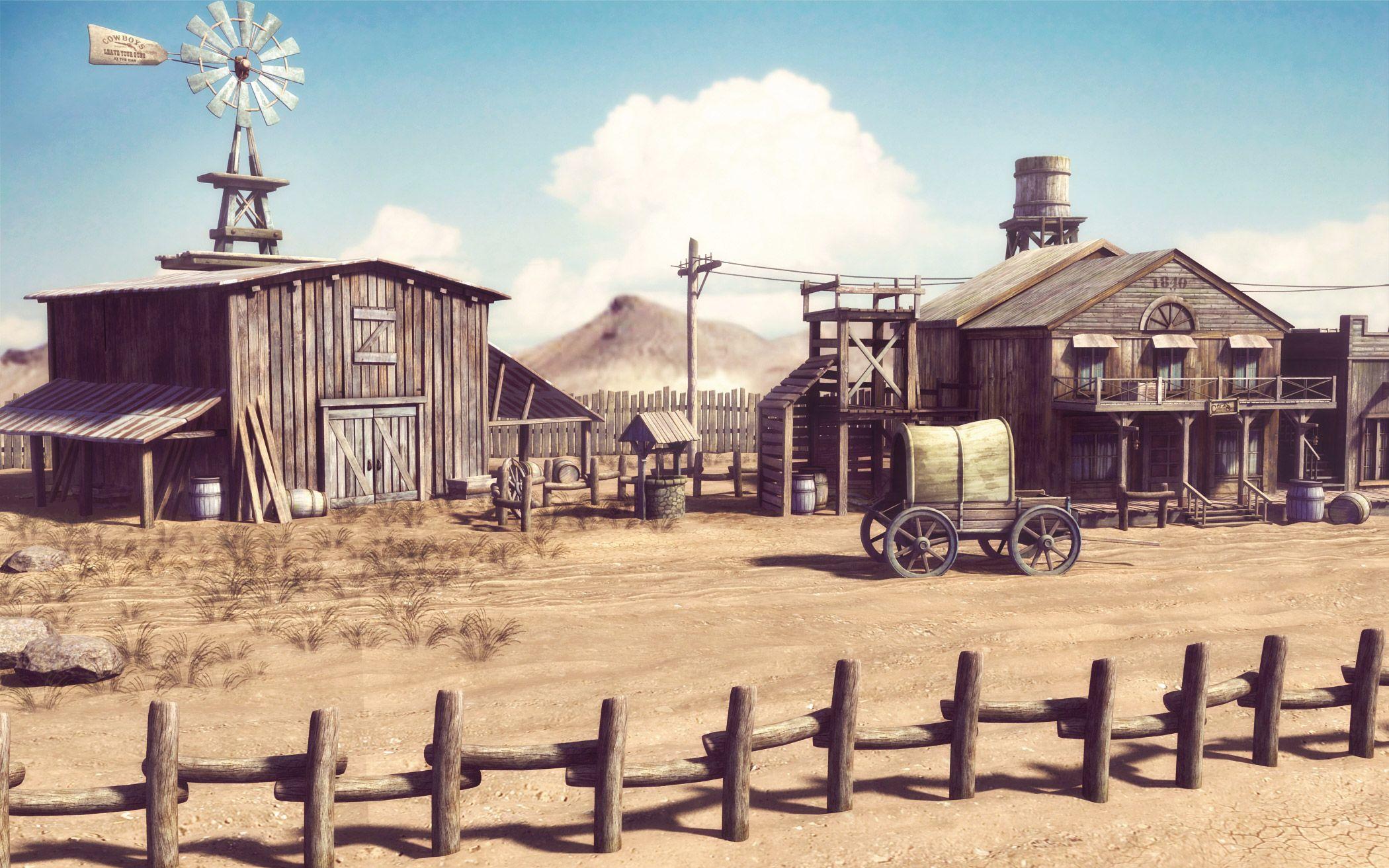картинки дикий запад домашних смотря
