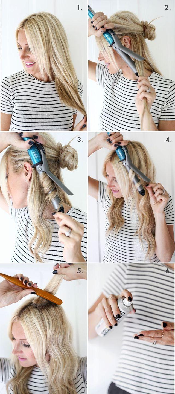 Mermaid Hairstyles How To Create Mermaid Waves A Beautiful Mess  Loose Curls