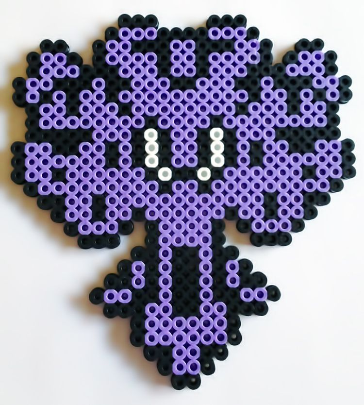 Haunted Mansion Wall Paper By Theplayfulperler Perler Bead Disney Perler Beads Designs Perler Bead Patterns