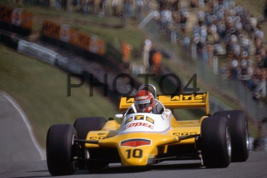 Eliseo Salazar (CHI) ATS D5 Ford Cosworth