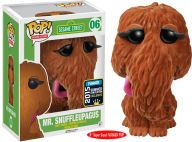 POP TV: Sesame Street-Flocked Snuffleupagus 6''SDCC