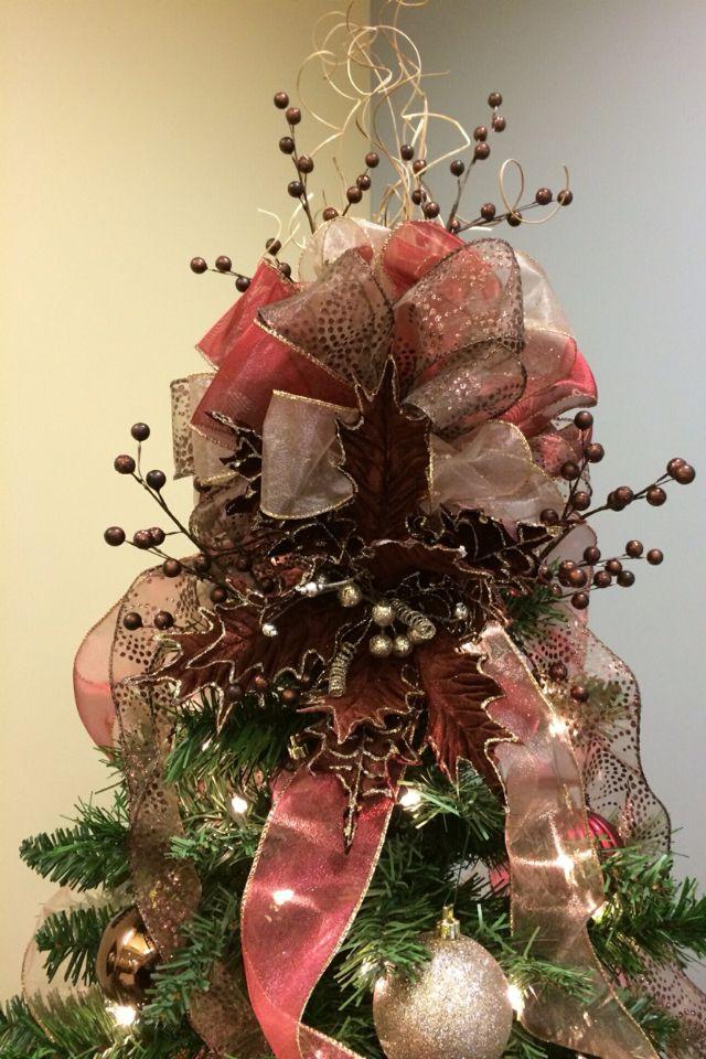 Homemade Christmas tree topper Diy christmas tree topper