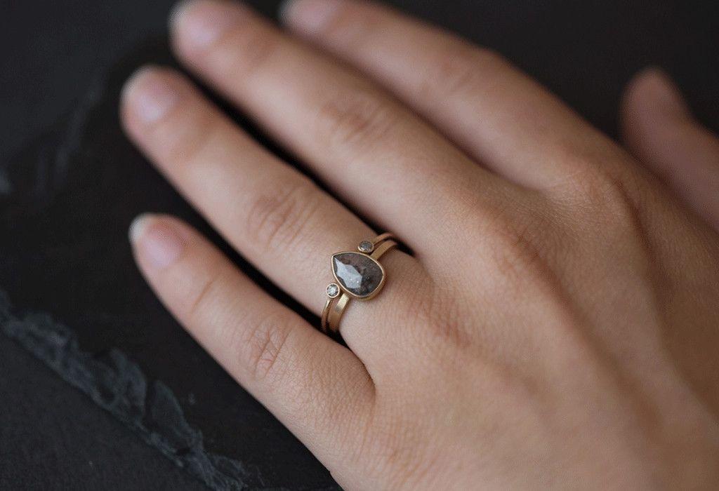 Open Cuff Diamond Ring