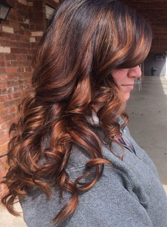 30 Chic Highlight Ideas For Your Brown Hair Highlights Pinterest